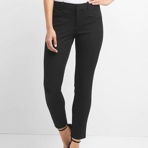 GAP Black Bistretch Skinny Ankle Pants
